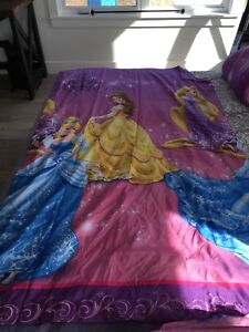 TWIN Disney Princess Bedding Set
