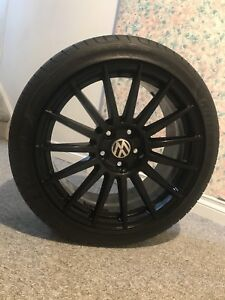 "Custom Brand New VW 18"" RIMS (Goodyear Tires Included)"