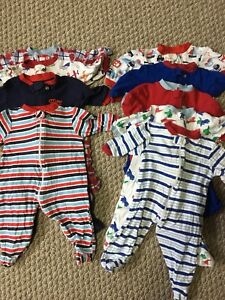 3-6 month boys pjs and shirts