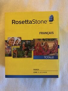Rosetta Stone French (Levels 1-5)