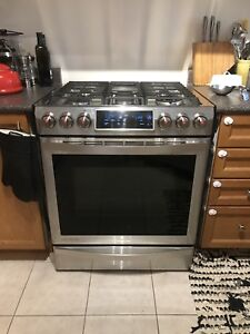 "30"" Samsung Chef Collection Gas Stove"