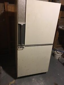 Larger old refrigerator
