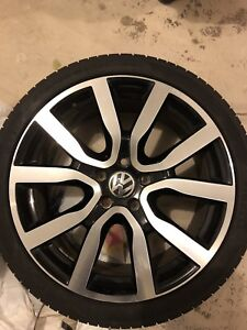 VW Golf GTI Alloy wheels