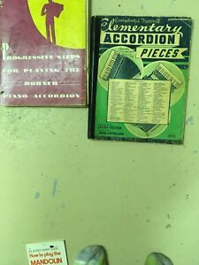 Accordian books