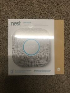 NEST PROTECT 2ND GEN BATTERY UNIT SMOKE/CO2 DETECTOR ONLY $120!!