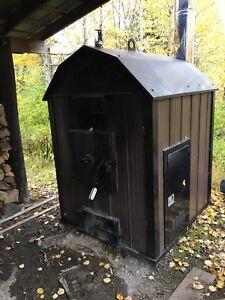 Portage & Main Outside Wood Boiler