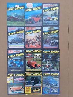 Australian street rodding magazine, hot rod , street machine