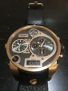 Diesel Rosegold Watch For men