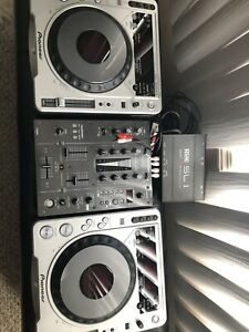Pioneer cdj 800 serato and djm 400 package