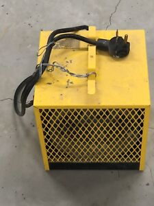 Electric construction heater