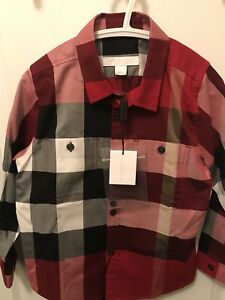 Burberry boys shirt brand new with tags