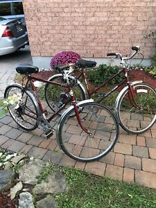 His and Hers Vintage Sears Free Spirit Bikes - $250