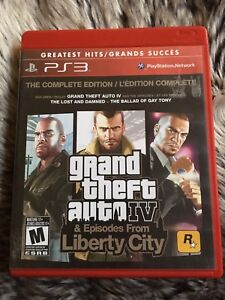 PS3 GRAND THEFT AUTO AND EPISODES FROM LIBERTY CITY