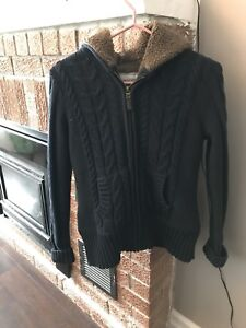 Ladies' Windriver lined sweater/jacket - size S