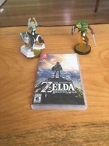 Legend of Zelda and 2 Amiibo's