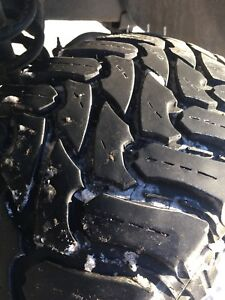 """4 35""""x12.5x17 tires only"""