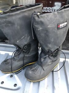 Steeled toed winter boots