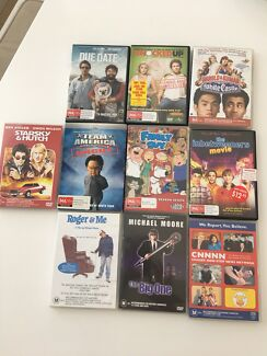 10 x Comedy dvd pack - various titles MA+