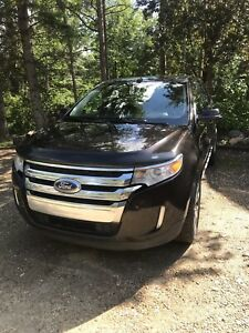 2013 Ford Edge Limited. Unique Kodiak Brown Dark Brown leather.