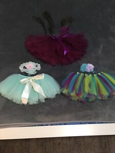 Newborn baby girl's photo Prop outfits
