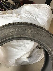 Kumho winter tires  225/55R19- set of 4