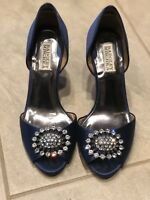 Badgley Mischka - Lacie heels Navy 8.5