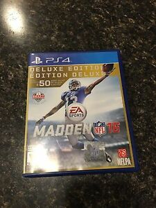 Madden 16 deluxe edition PS4