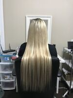 Affordable Hair Extensions contact @780-298-3525