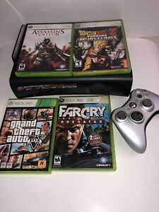 Xbox 360 With 4 Games and Controller GTA5