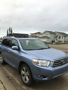 Toyota Highlander 2008 limited edition 7 pass