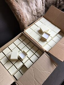 Cream Colour Ring and Earring Boxes
