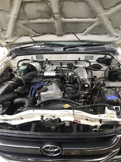 3rz motor and gearbox