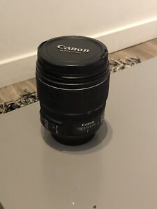 CANON EF-S 15-85MM 3.5-5.6 IS USM LENS