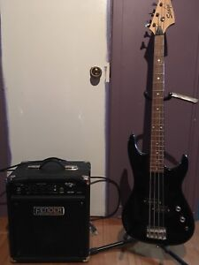Bass stage classic series + fender amp rumble 15