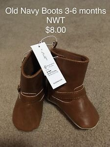 Old Navy 3-6 month boots