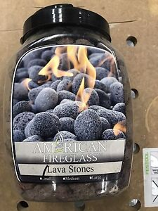 LAVA ROCKS FOR GAS FIREPLACE