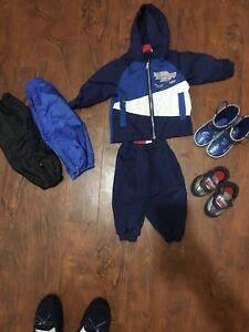 6m Boys (fit mine 6-12-18m) rain jacket/pants/boots/shoes/sz 5