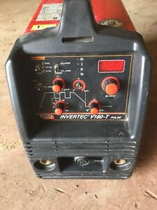 Lincoln Invertec tig/stick welder
