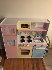"Children's"" kids craft ""wooden kitchen"