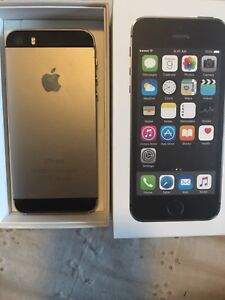 iPhone  5S silver with original box