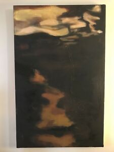"""Surface Skim"" Original Oil Painting on Canvas, $100.00, 2ftX3ft"