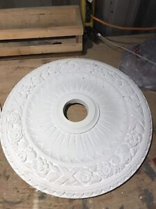 """Great condition  24 """"light medallions"""