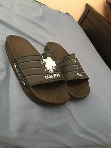 US polo sandals