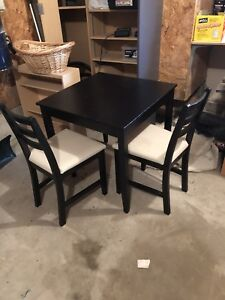 Small table and two chairs (IKEA)