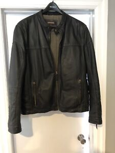 Daniel Men's Leather Jacket (L)