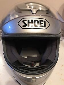 SHOEI helmet, size large, perfect condition