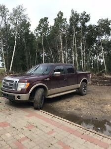 2010 Ford F-150 king ranch super cab