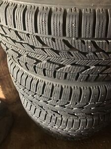 225/55/R17 Winter Studded Tires