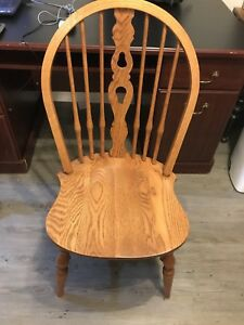 Wood dining/kitchen table chair