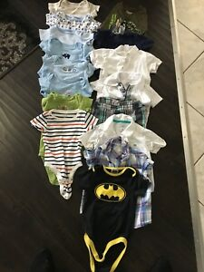 Boys short sleeved 6-18 months